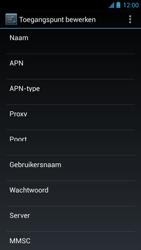 Acer Liquid S1 - Internet - Handmatig instellen - Stap 13