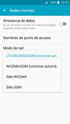 Samsung Galaxy A3 (2016) - Red - Seleccionar el tipo de red - Paso 6