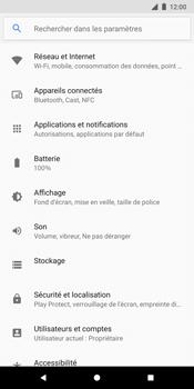Google Pixel 2 XL - Internet - Activer ou désactiver - Étape 4