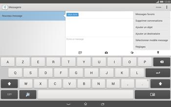 Sony Xperia Tablet Z2 (SGP521) - MMS - envoi d'images - Étape 10