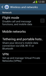 Samsung S7275 Galaxy Ace III - Network - Usage across the border - Step 5