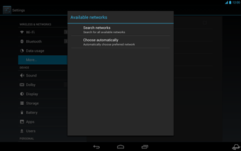 Acer Iconia Tab A3 - Network - Usage across the border - Step 7