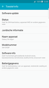 Samsung G928F Galaxy S6 edge plus - Software update - update installeren zonder PC - Stap 5