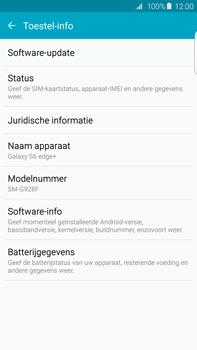 Samsung Galaxy S6 edge+ - Netwerk - Software updates installeren - Stap 6