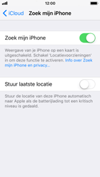 Apple iPhone SE - iOS 11 - Beveiliging en privacy - zoek mijn iPhone activeren - Stap 8