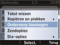 Nokia Asha 302 - MMS - afbeeldingen verzenden - Stap 10