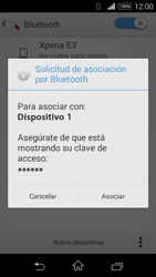 Sony D2203 Xperia E3 - Bluetooth - Conectar dispositivos a través de Bluetooth - Paso 7
