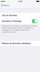 Apple iPhone SE - iOS 10 - Internet - Utilisation à l