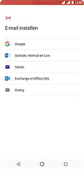 Nokia 5.1 - E-mail - handmatig instellen (gmail) - Stap 7