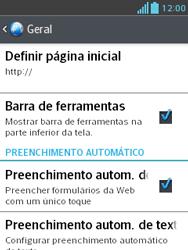 LG E430 Optimus L3 II - Internet (APN) - Como configurar a internet do seu aparelho (APN Nextel) - Etapa 27