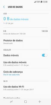 Samsung Galaxy S8 - Internet no telemóvel - Como ativar os dados móveis -  7