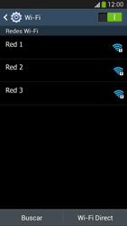 Samsung Galaxy S4 - WiFi - Conectarse a una red WiFi - Paso 6