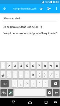 Sony Xperia Z5 Premium - Android Nougat - E-mail - envoyer un e-mail - Étape 9