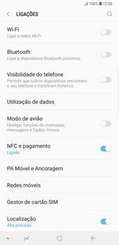 Samsung Galaxy Note9 - Internet no telemóvel - Como ativar os dados móveis -  5