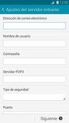 Samsung G900F Galaxy S5 - E-mail - Configurar correo electrónico - Paso 8