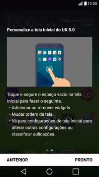 LG G5 Stylus - Primeiros passos - Como ativar seu aparelho - Etapa 17