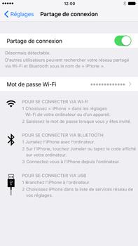 Apple iPhone 7 Plus - Internet et connexion - Partager votre connexion en Wi-Fi - Étape 8