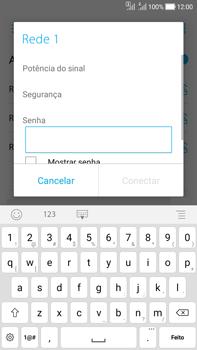Asus Zenfone Selfie - Wi-Fi - Como configurar uma rede wi fi - Etapa 7