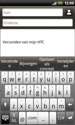 HTC S510b Rhyme - E-mail - E-mails verzenden - Stap 5