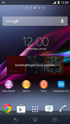 Sony D5503 Xperia Z1 Compact - MMS - automatisch instellen - Stap 9