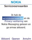 Nokia 113 - E-mail - Handmatig instellen - Stap 7