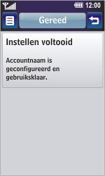 LG GD900 Crystal - E-mail - Handmatig instellen - Stap 19