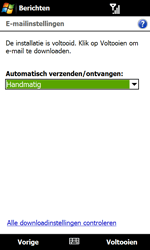 HTC T7373 Touch Pro II - E-mail - Handmatig instellen - Stap 15