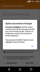 Crosscall Action X3 - E-mail - Configuration manuelle (outlook) - Étape 12