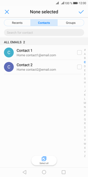 Huawei Mate 10 Pro - Email - Sending an email message - Step 5