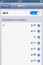 Apple iPhone 4 - iOS 6 - Wifi - configuration manuelle - Étape 6