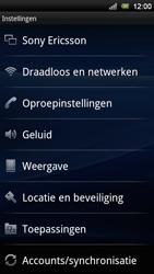 Sony Ericsson Xperia Neo V - Internet - handmatig instellen - Stap 4