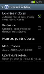 Samsung Galaxy Express - Internet et connexion - Activer la 4G - Étape 6
