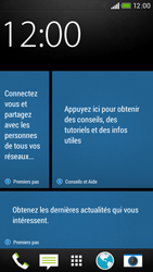 HTC Desire 601 - Internet - Examples des sites mobile - Étape 1
