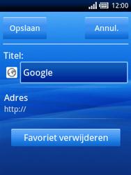 Sony Ericsson Xperia X10 Mini - Internet - Hoe te internetten - Stap 6