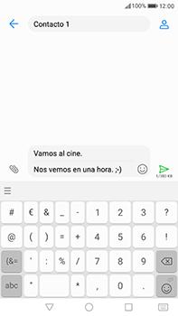 Huawei P10 Plus - Mensajería - Escribir y enviar un mensaje multimedia - Paso 13