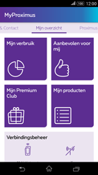 Sony E2003 Xperia E4 G - Applicaties - MyProximus - Stap 13