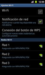 Samsung I8160 Galaxy Ace II - WiFi - Conectarse a una red WiFi - Paso 7