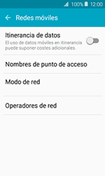 Samsung Galaxy J1 (2016) (J120) - Red - Seleccionar una red - Paso 5