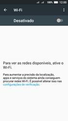 Lenovo Vibe C2 - Wi-Fi - Como configurar uma rede wi fi - Etapa 5