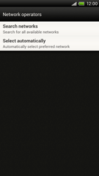 HTC S720e One X - Network - Usage across the border - Step 6
