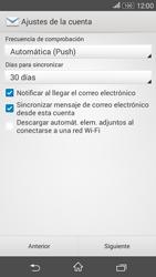 Sony Xperia E4g - E-mail - Configurar Yahoo! - Paso 8