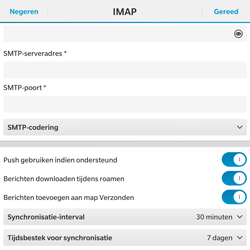 BlackBerry Passport - E-mail - Handmatig instellen - Stap 14