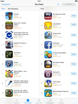 Apple iPad mini iOS 7 - Applications - Downloading applications - Step 4