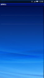 Sony Ericsson Xperia X10 - MMS - handmatig instellen - Stap 7