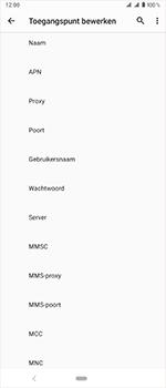 Sony xperia-1-dual-sim-j9110 - Internet - Handmatig instellen - Stap 13