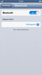 Apple iPhone 5 - Bluetooth - koppelen met ander apparaat - Stap 9