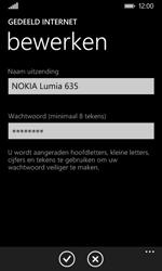 Nokia Lumia 635 - WiFi - Mobiele hotspot instellen - Stap 6