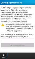 BlackBerry Z10 - Resetten - Fabrieksinstellingen terugzetten - Stap 6
