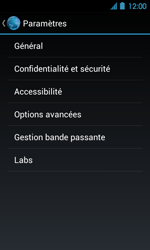 Acer Liquid Glow E330 - Internet - Configuration manuelle - Étape 21