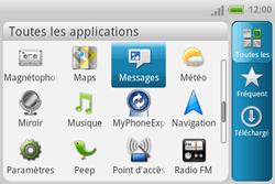 HTC A810e ChaCha - MMS - envoi d'images - Étape 2